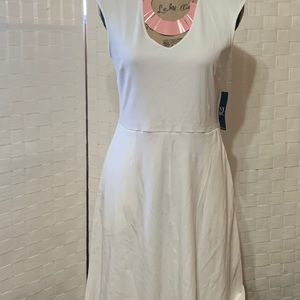 NWT Simply White Summer Dress Size Medium